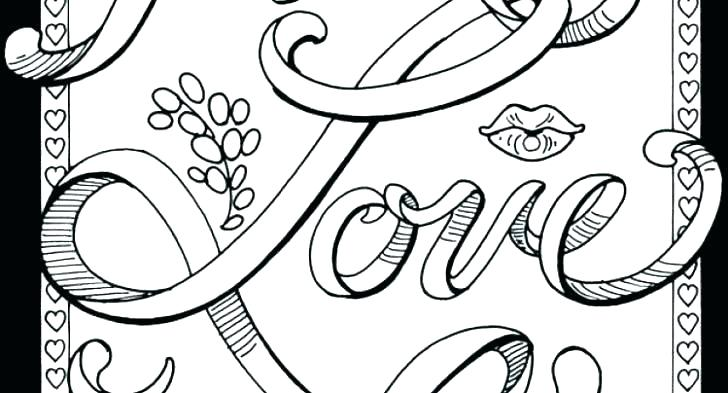 728x393 Words Coloring Pages Word Coloring Pages Swear Word Coloring Pages
