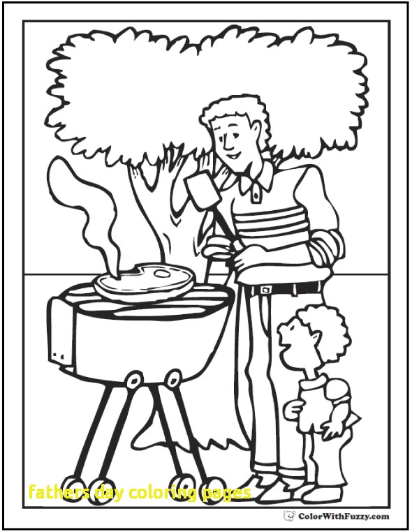 590x762 Fathers Day Coloring Pages With Fathers Day Coloring Pages