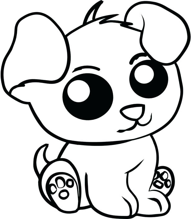 615x704 Baby Animal Coloring Pages