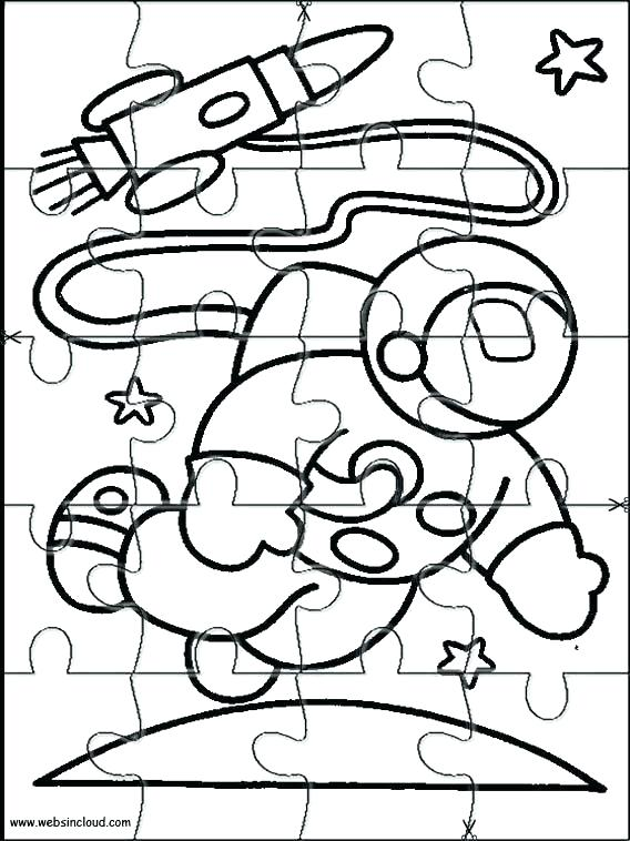 568x758 Autism Puzzle Ribbon Coloring Page Kids Coloring Cut Out Coloring