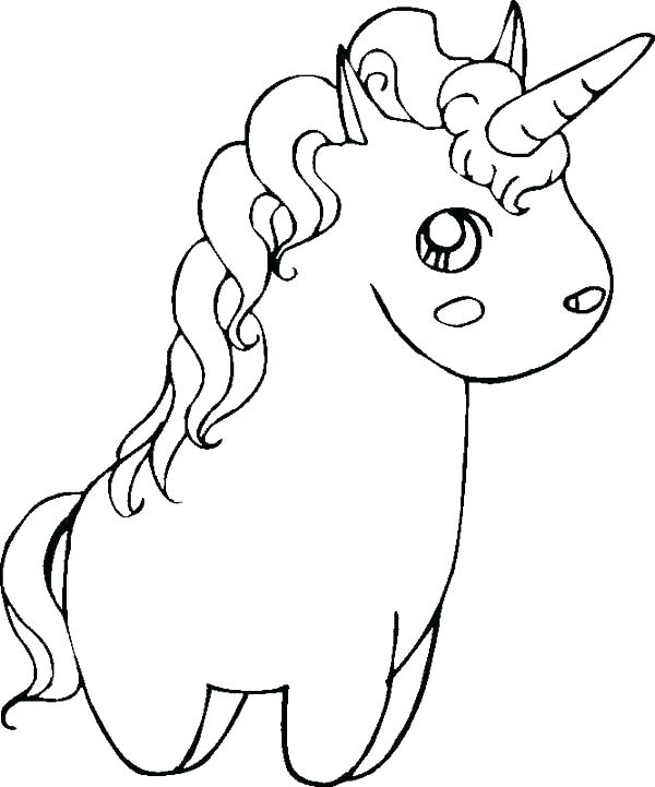 600x721 Cut Coloring Pages Printable Unicorn Coloring Pages Baby Flying