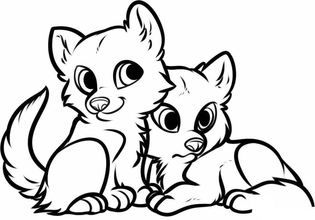 Cute Animal Coloring Pages At Getdrawings Com Free For