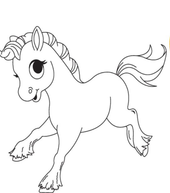 542x614 Classy Design Baby Animal Coloring Pages Cute Free For Kids