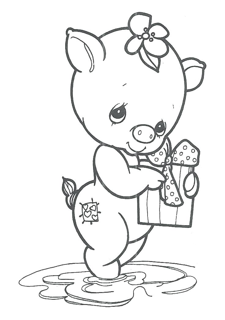 735x1043 In The Sky Animals Coloring Sheet Cute Animals Coloring Page Cute