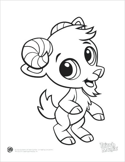 405x524 Cute Baby Animals Coloring Pages