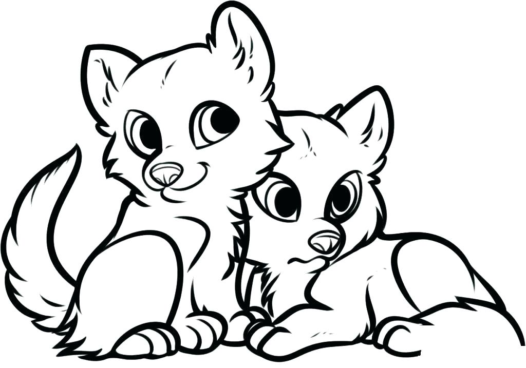 Cute Animal Coloring Pages To Print At Getdrawings Com Free For