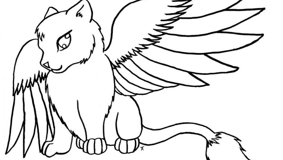 960x544 Coloring Pages Anime Animals Download Free Animal Printable