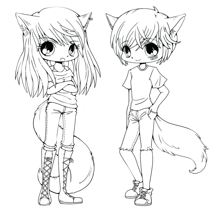 897x864 Cute Animals Coloring Pages Cute Anime Animals Coloring Sheet Free