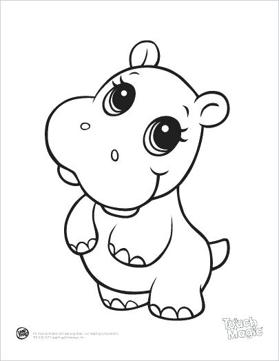 405x524 Cute Cartoon Animal Coloring Pages Anime Animals Coloring Pages