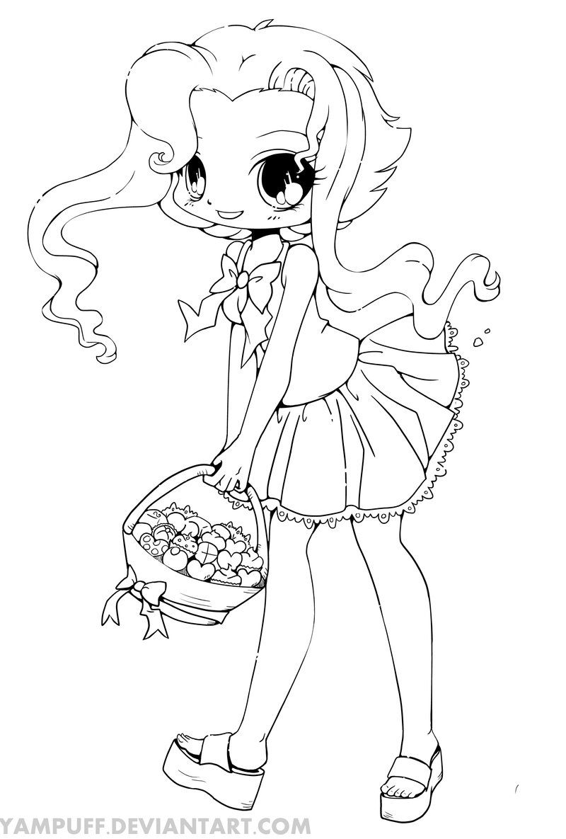 800x1185 Inspiring Chibi Coloring Pages Of Cute Animal Anime Pict