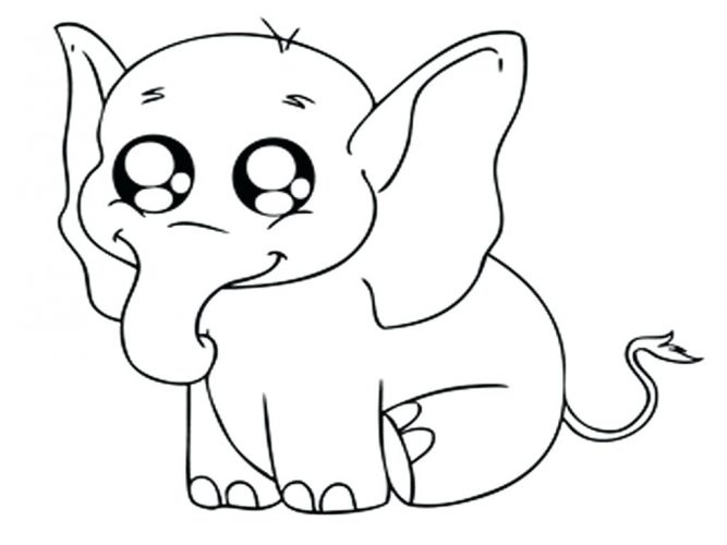 667x500 Coloring Pages Cute Animals Coloring Pages Cute Baby Animals