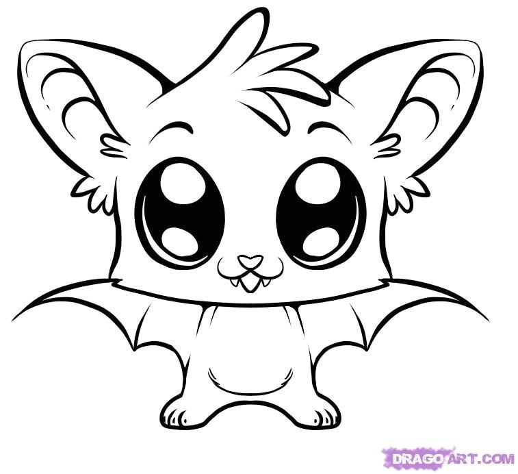 757x692 Beautiful Anime Animals Coloring Pages Coloring Ws