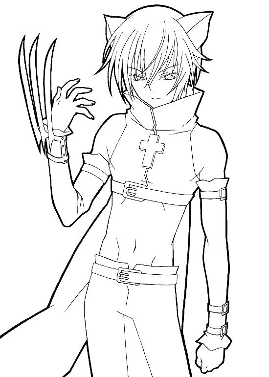 550x771 Free Anime Coloring Pages Anime Girl Coloring Page Anime Girl