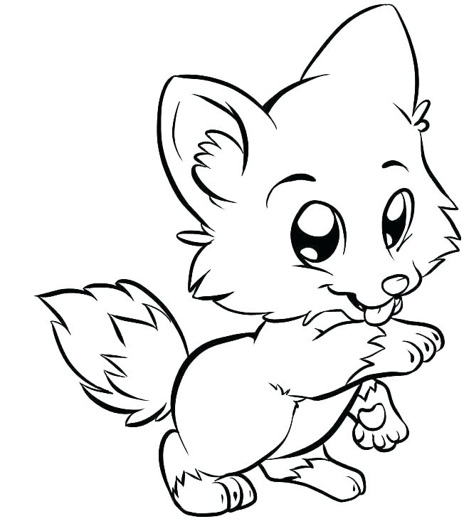 Cute Baby Animal Coloring Pages Coloringnori Coloring Pages For Kids