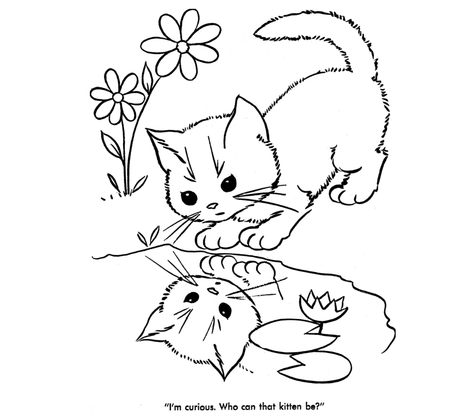 933x853 Cute Baby Animal Coloring Pages New Cute Baby Cats Coloring Pages