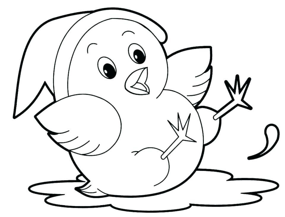 960x731 Cartoon Animals Coloring Pages