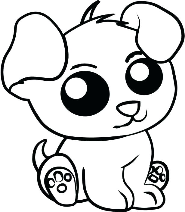 615x704 Coloring Pages Of Cute Animals Coloring Pages Cute Colouring