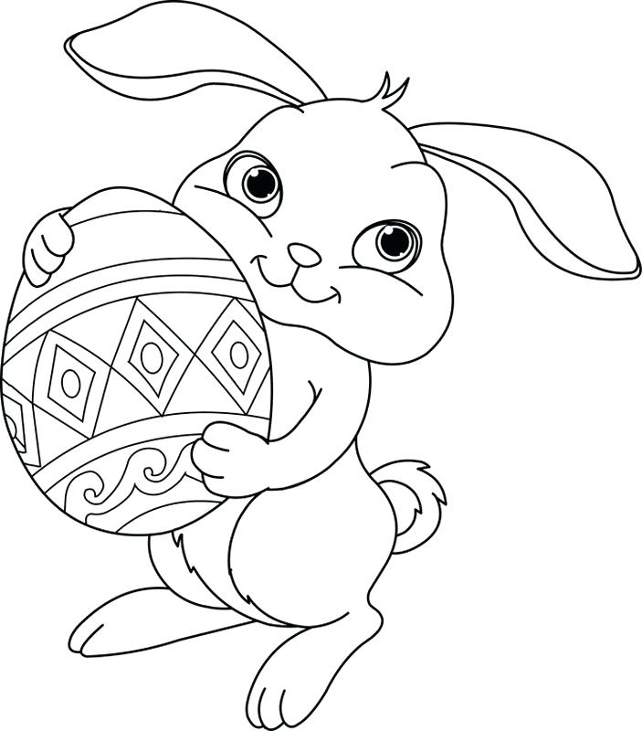 703x800 Cute Baby Bunnies Coloring Pages Bunny Color Page Hard