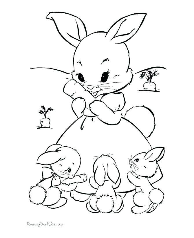 670x820 Cute Bunny Coloring Pages Baby Bunny Coloring Pages Cute Bunny