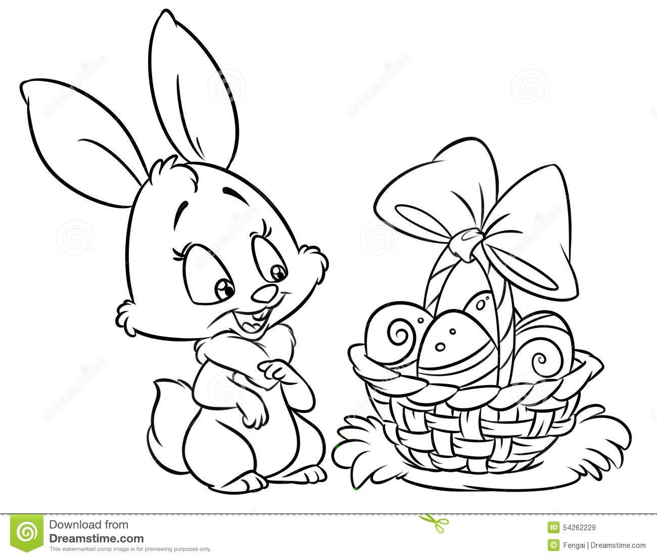 1300x1106 Cute Bunny Coloring Pages To Print Free Books At Easter Page