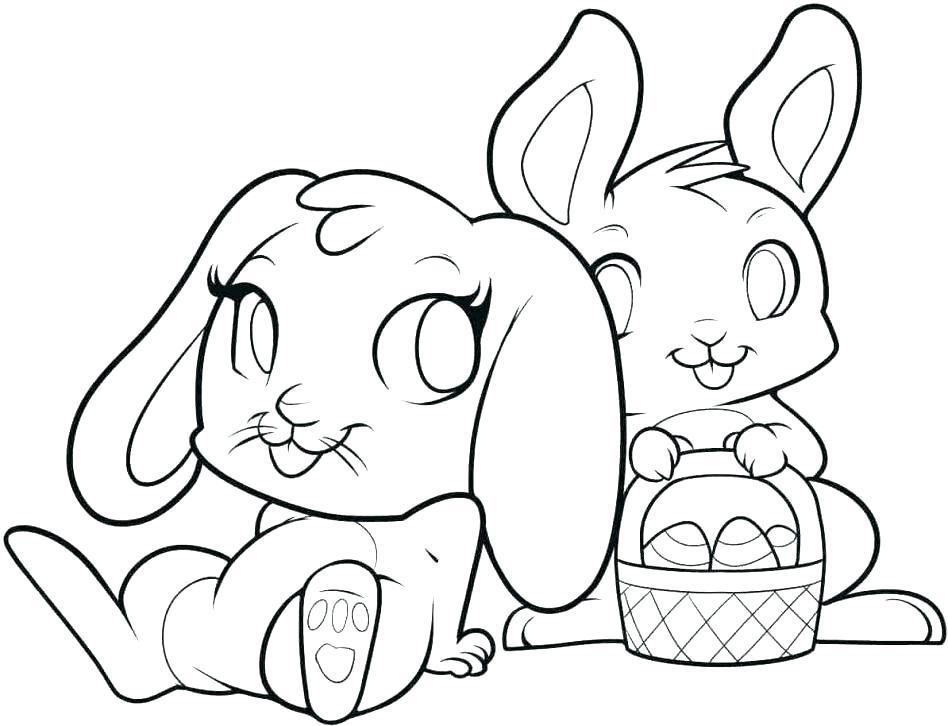 948x726 Baby Bunny Coloring Pages