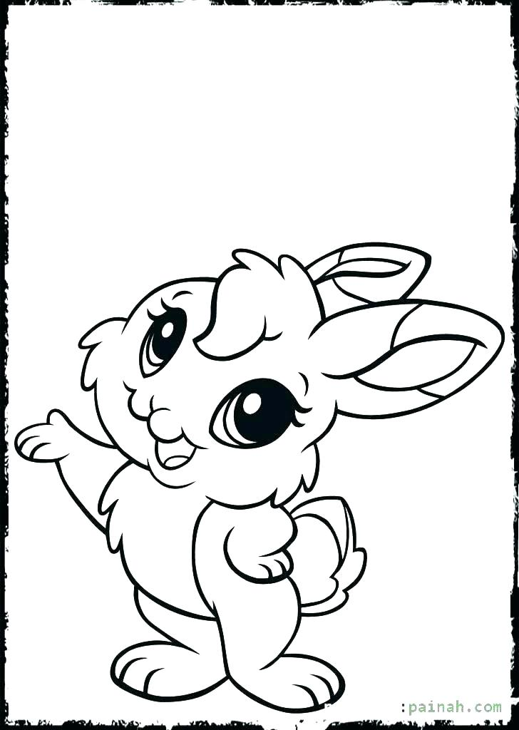728x1024 Baby Bunny Coloring Pages Free Printable Bunny Coloring Pages Kids