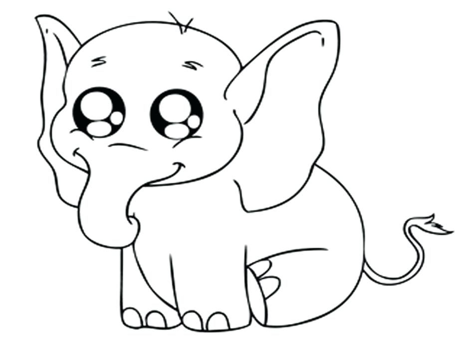940x705 Awesome Cute Animals Coloring Pages Or Cute Baby Animal Coloring