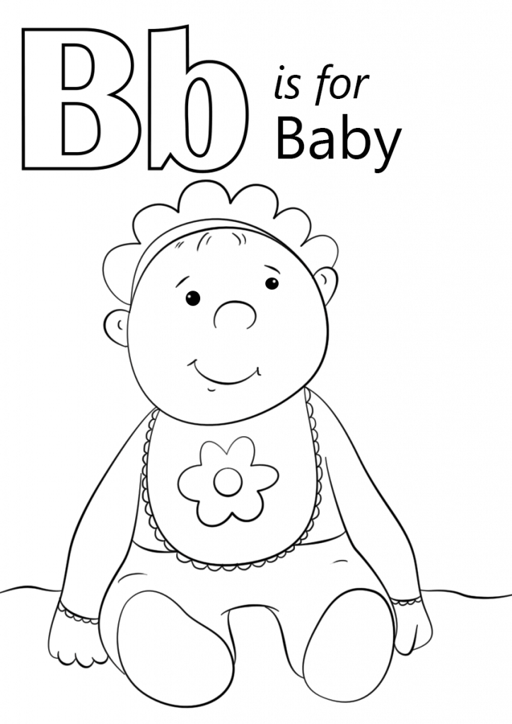 724x1024 Cute And Latest Baby Coloring Pages