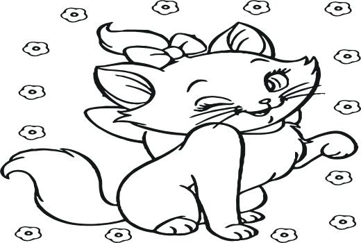 520x350 Cute Disney Coloring Pages Coloring Pages Coloring Pages As Well