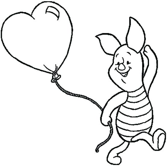 558x555 Cute Disney Coloring Pages