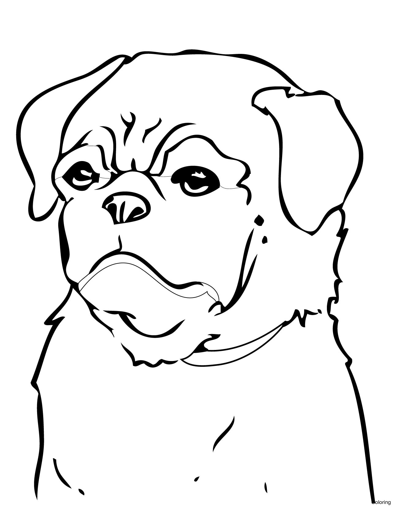1286x1656 Letter D Is For Dog Coloring Page Free Printable Pages Brilliant