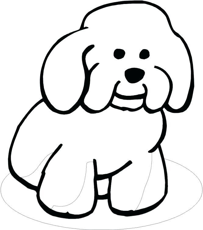 666x754 Baby Dog Coloring Pages Medecine Du