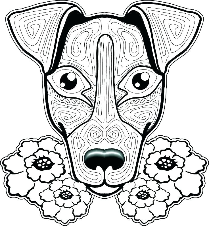736x793 Coloring Baby Dog Coloring Pages Realistic Cute Baby Dog