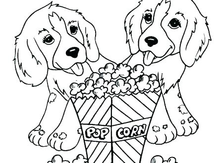 440x330 Baby Dogs Coloring Pages Cute Dogs Coloring Pages Cute Puppy
