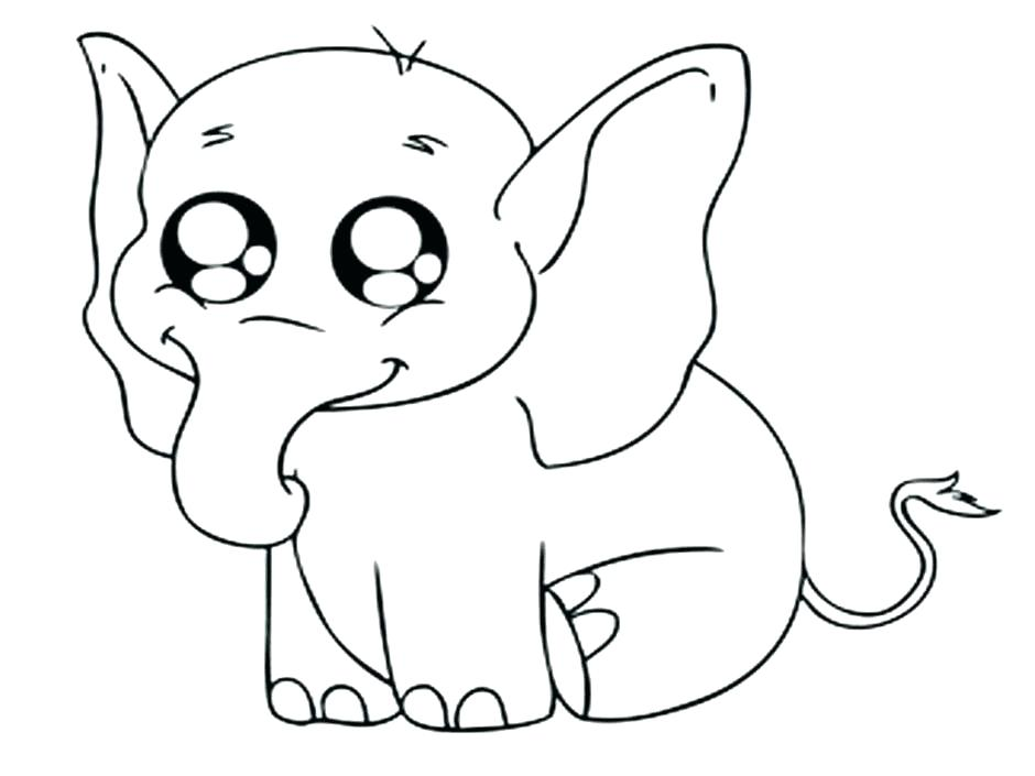 940x705 Coloring Pages Of Baby Animals Cute Baby Coloring Pages Baby