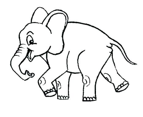 468x383 Cute Elephant Coloring Pages Cute Elephant Coloring Pages Cute
