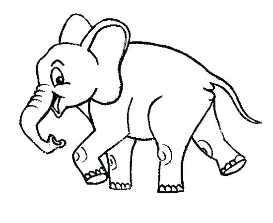 550x450 Baby Elephant Coloring Pages Cute Elephant Coloring Pages Baby