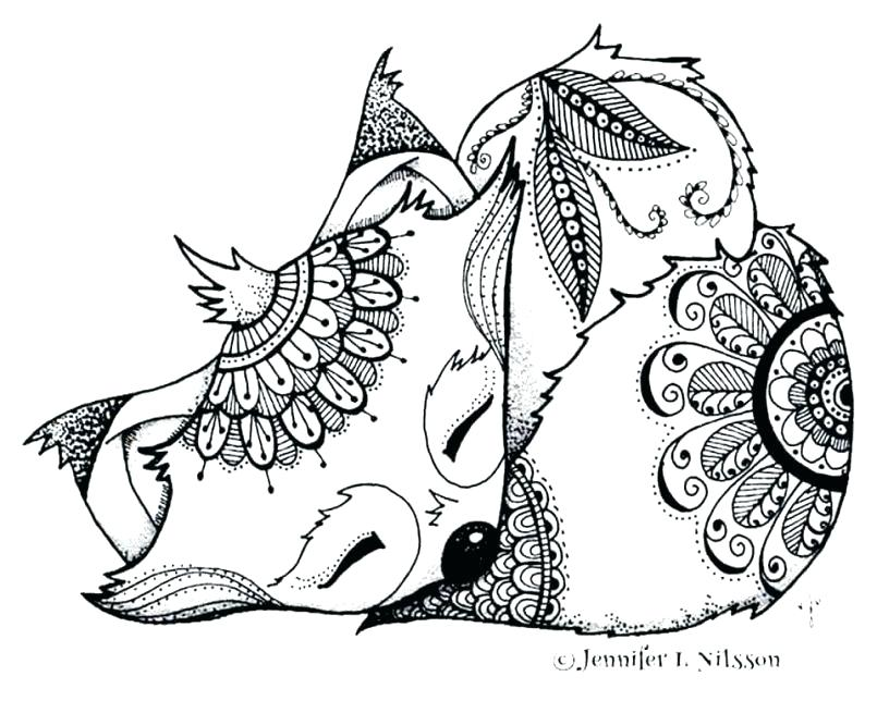 805x644 Coloring Pages Baby Animals Coloring Pages Baby Baby Fox Coloring