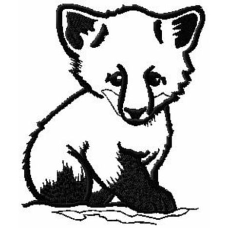 468x468 Cute Baby Fox Coloring Pages