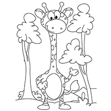 230x230 Top Free Printable Giraffe Coloring Pages Online