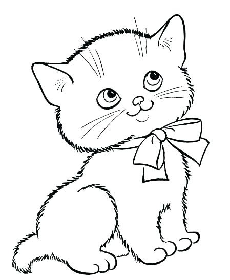 449x547 Baby Cat Coloring Pages Sleeping Coloring Page Click To See