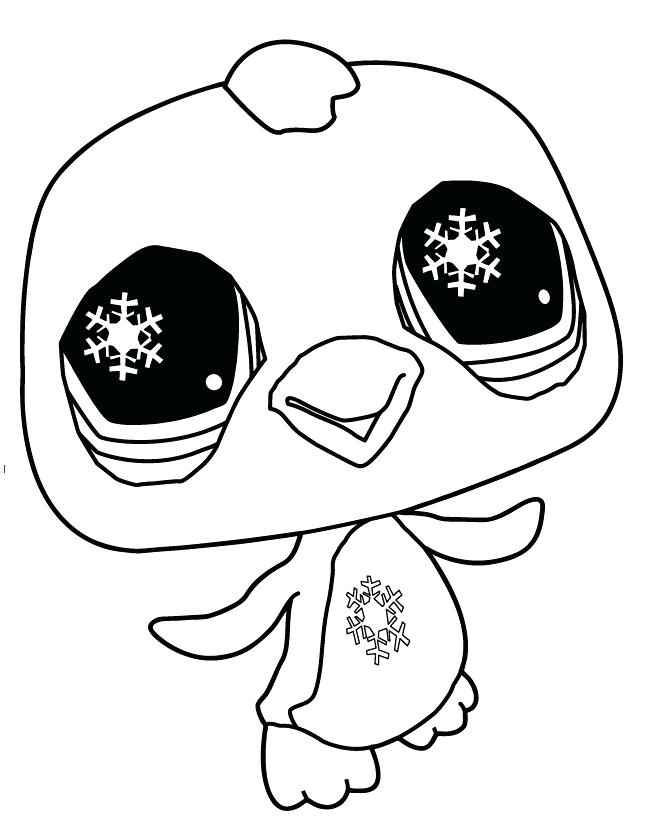 658x819 Cute Baby Penguin Coloring Pages Littlest Pet Shop Kids