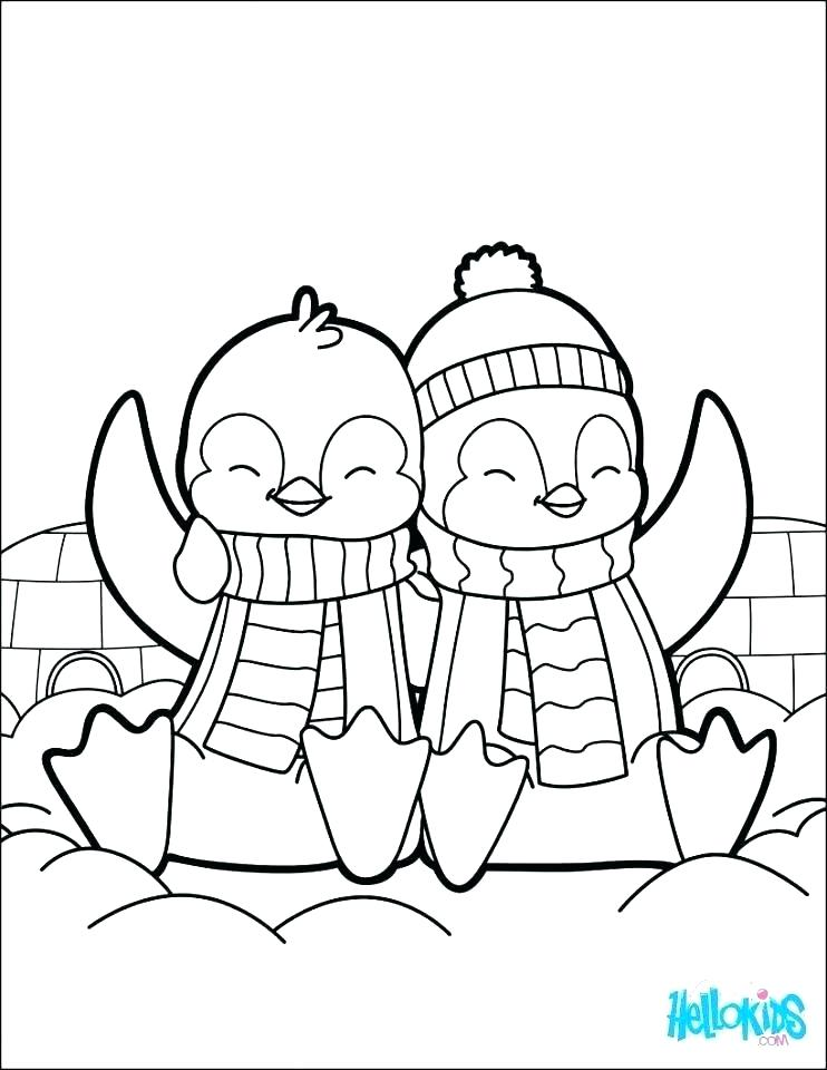 742x960 Emperor Penguin Coloring Page Printable Penguin Coloring Pages