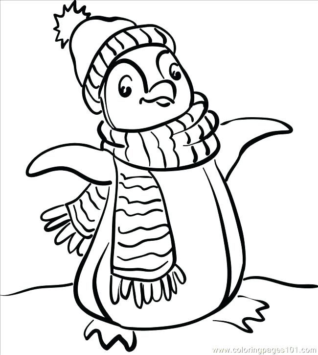 650x724 Penguin Coloring Book Baby Penguin Coloring Pages Penguin Color