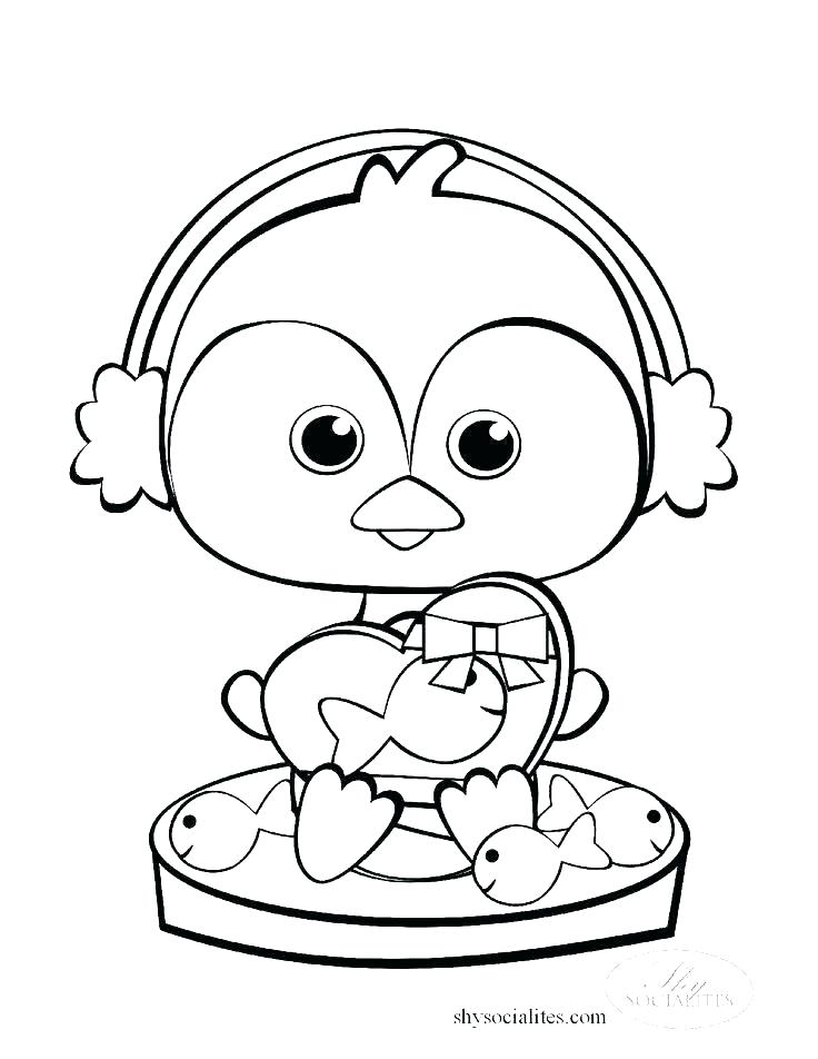 736x952 Penguins Coloring Pages Free Coloring Pages Baby Penguin Coloring