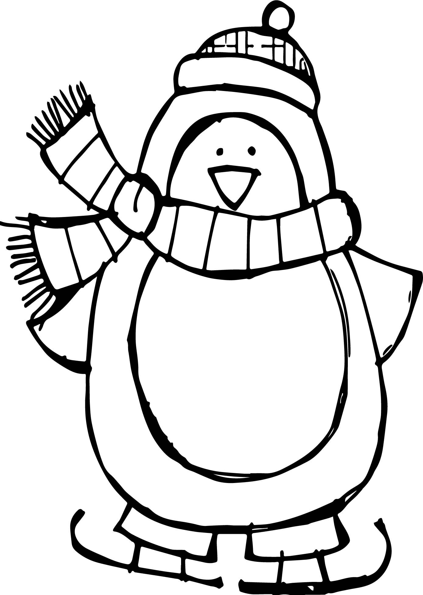 1390x1955 Penguin Coloring Page Cute Ba Pages Panda Ribsvigyapan Com Cool