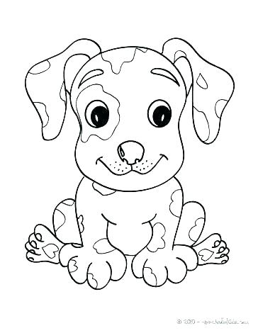 364x470 Coloring Pages Cute Puppies Cute Puppy Coloring Sheets Puppy
