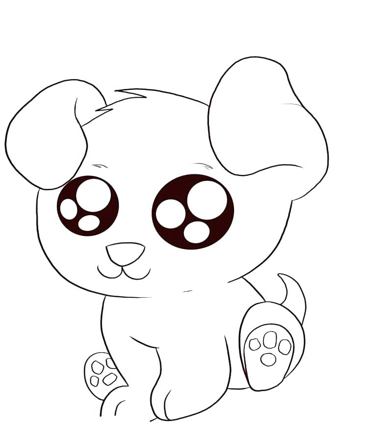 750x859 Cutest Coloring Pages Puppy Cute Baby Puppy Coloring Pages