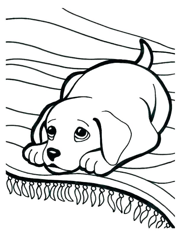 618x806 Doggy Coloring Pages Free Printable Dog Coloring Pages Cute Puppy