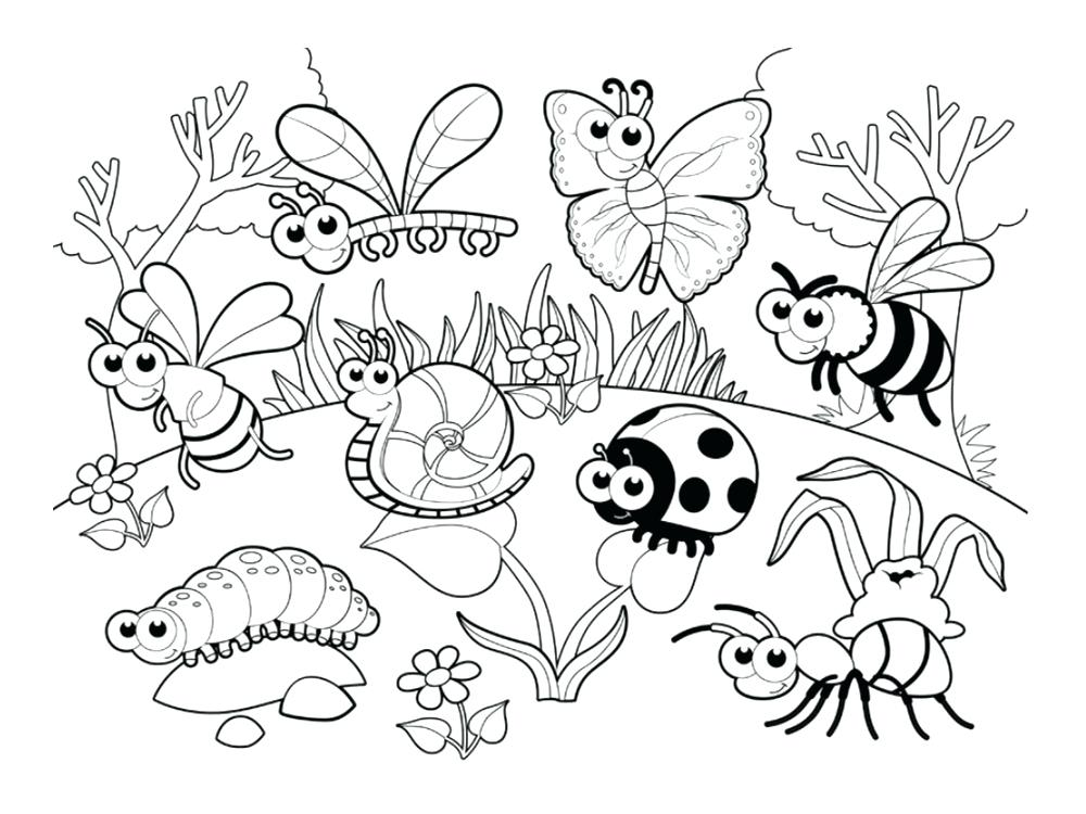 1000x750 Love Bug Coloring Pages Love Coloring Love Bug Coloring Sheet Love